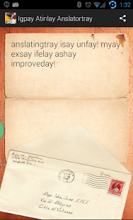 Pig Latin Translator - screenshot thumbnail