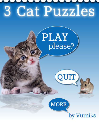 Cat Kitten Puzzles Ad-Free