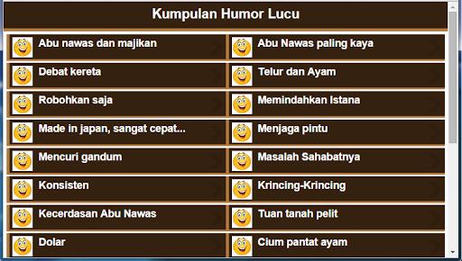 Cerita Humor Gokil