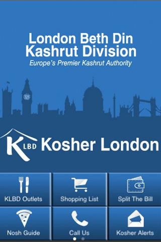 KLBD Kosher London - screenshot