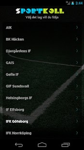 Sportkoll Fotboll- screenshot thumbnail