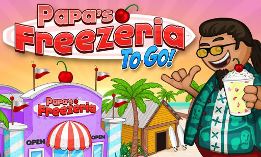 Screenshot for Papa's Freezeria To Go! in United States Play Store