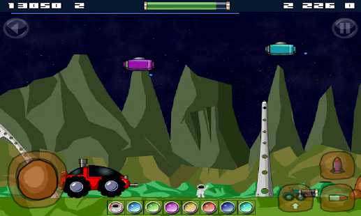 Space Rover Free - screenshot thumbnail