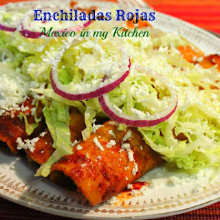 Red Enchiladas Recipe / Receta de Enchiladas Rojas