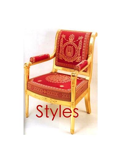 Les styles de meubles tablet