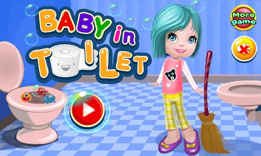 嬰兒衛生間清潔遊戲