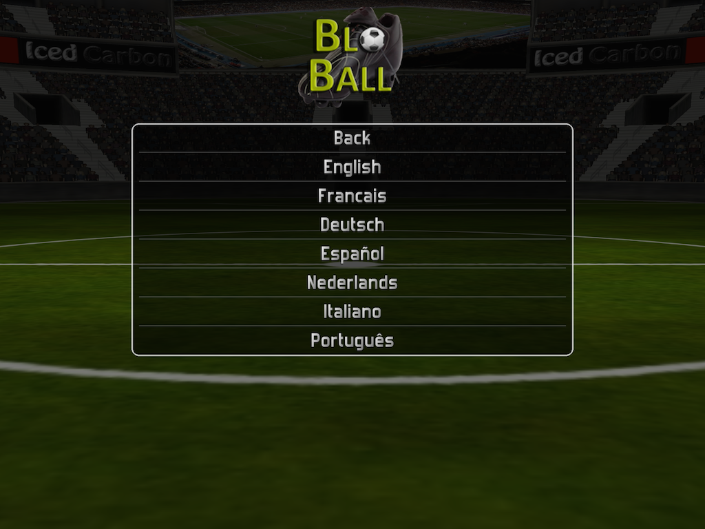 Blo-Ball Soccer- screenshot