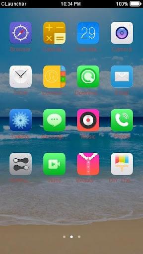 玩免費個人化APP|下載碧海蓝天主题 app不用錢|硬是要APP