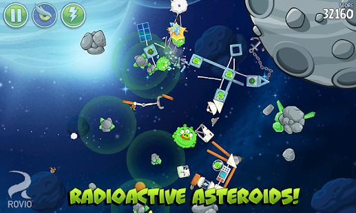 Angry Birds Space HD Screenshot 23
