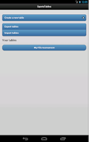 Screenshot of SportsTables League Manager