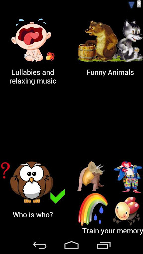 My Happy Baby lullabies games