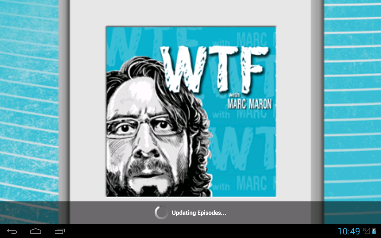 WTF with Marc Maron - screenshot
