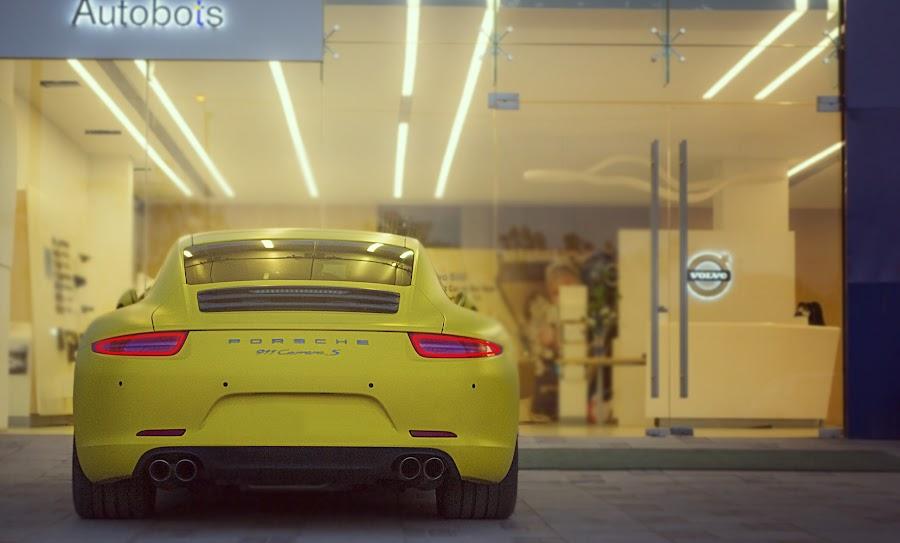 Porsche Carrera 911 (991 Type) by Maulik Pankhanya - Transportation Automobiles ( car, wrap, dope, ninve-evelen, autolove, automobile, german, carporn, 911, maulik, sexy, porsche, stuttgart, auto, germany, volvo, night, 3m )
