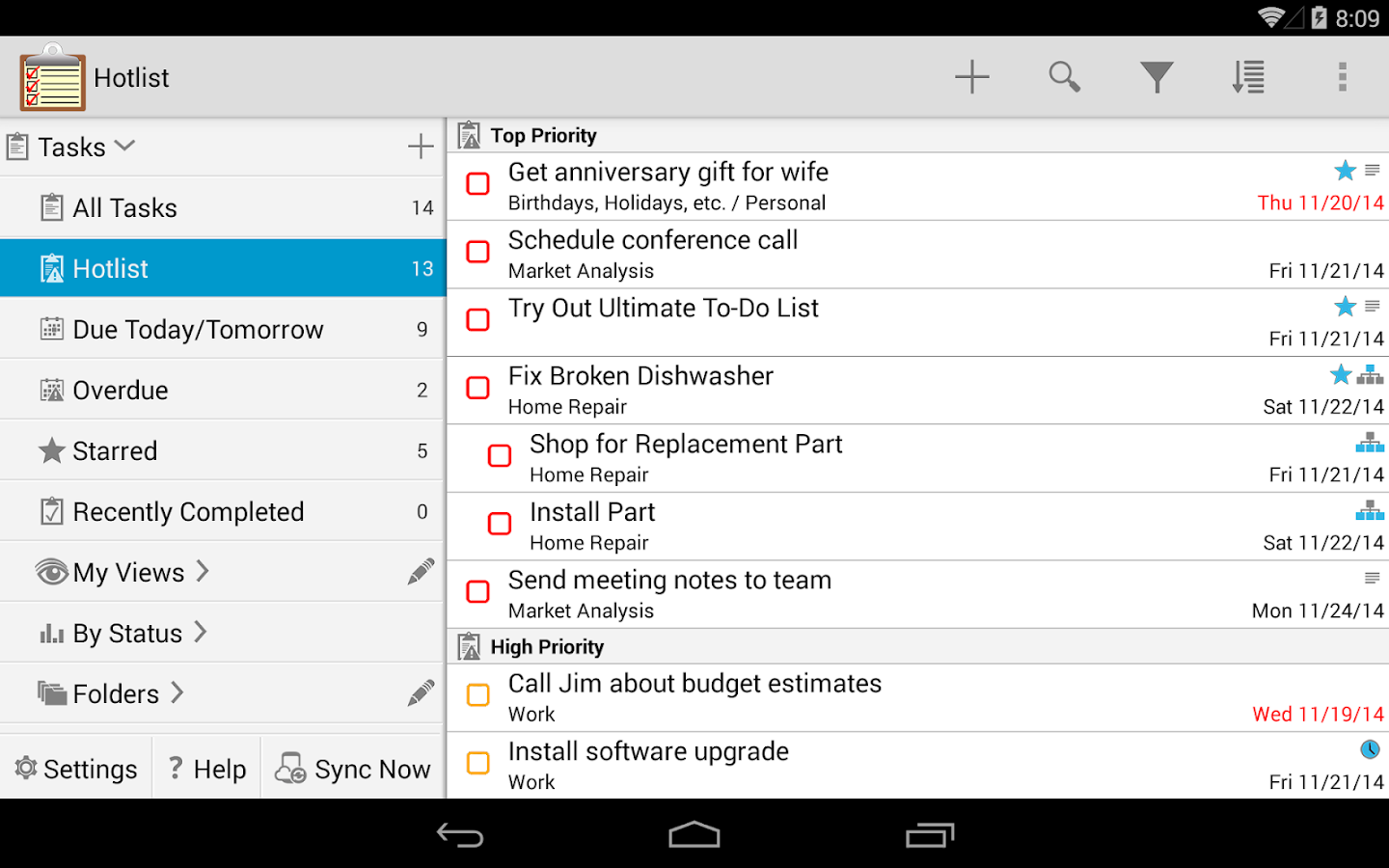 Ultimate To-Do List- screenshot