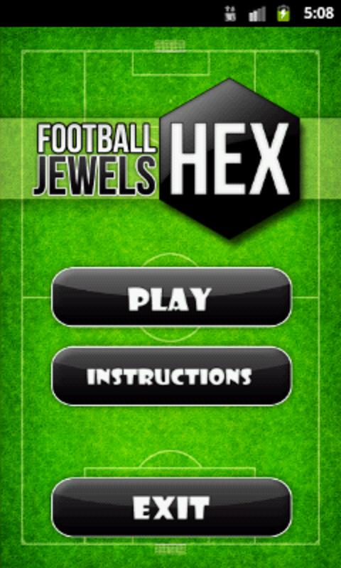 Football HEX Jewels- screenshot