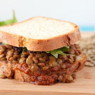 Stampede Barbecue Lentil Sandwich