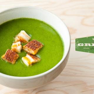 Spinach Potato Soup.