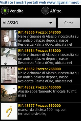 Liguriaimmobiliare- screenshot