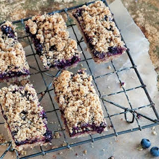 Blueberry Breakfast Bars From 'Whole-Grain Mornings'.