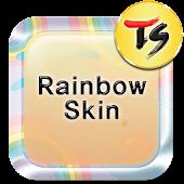 Rainbow Skin for TS Keyboard