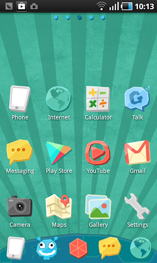 Cartoon GO Launcher EX Theme