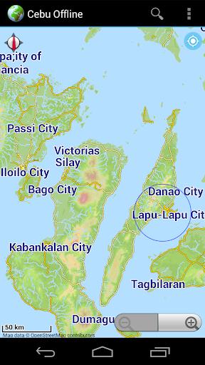 Offline Map Cebu Philippines
