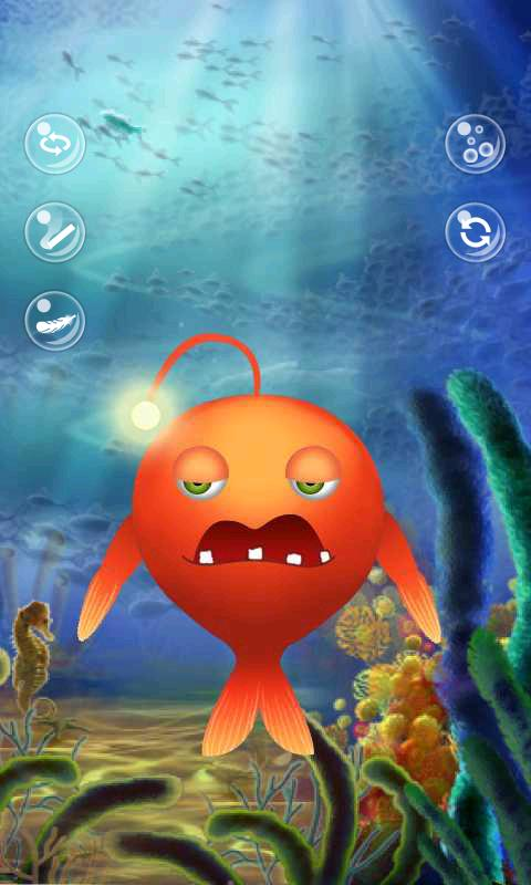 Talking fish - screenshot