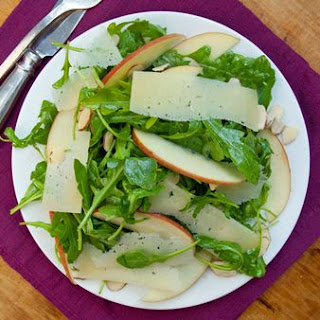 Arugula, Apples & Manchego in Cider Vinaigrette Recipe