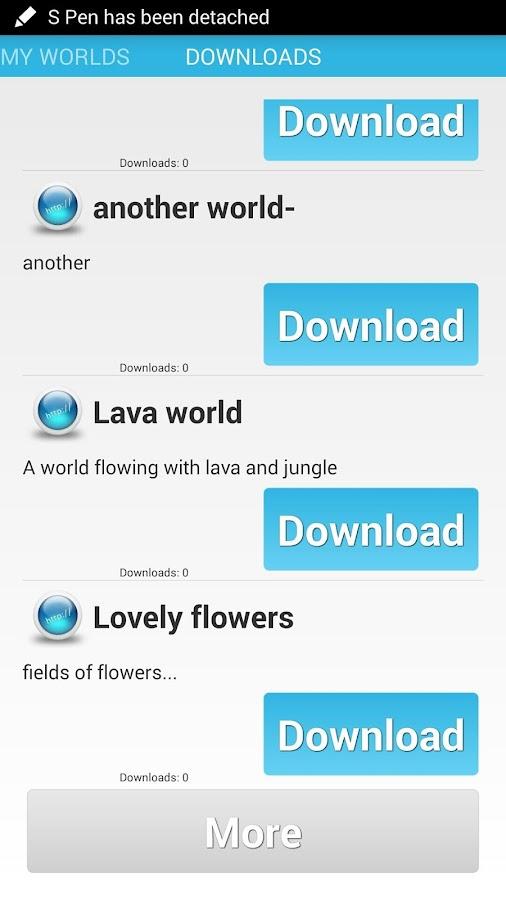 Mine PE World Share - screenshot