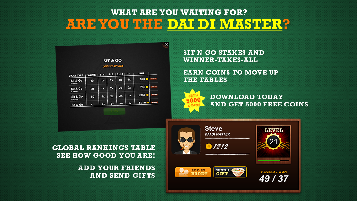 Big Dai Di - Big 2 Poker - screenshot