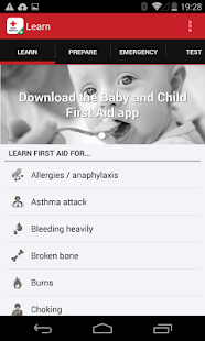 First aid by British Red Cross- screenshot thumbnail
