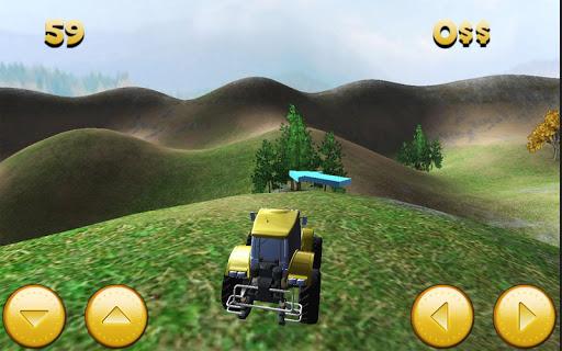拖拉机停车农场