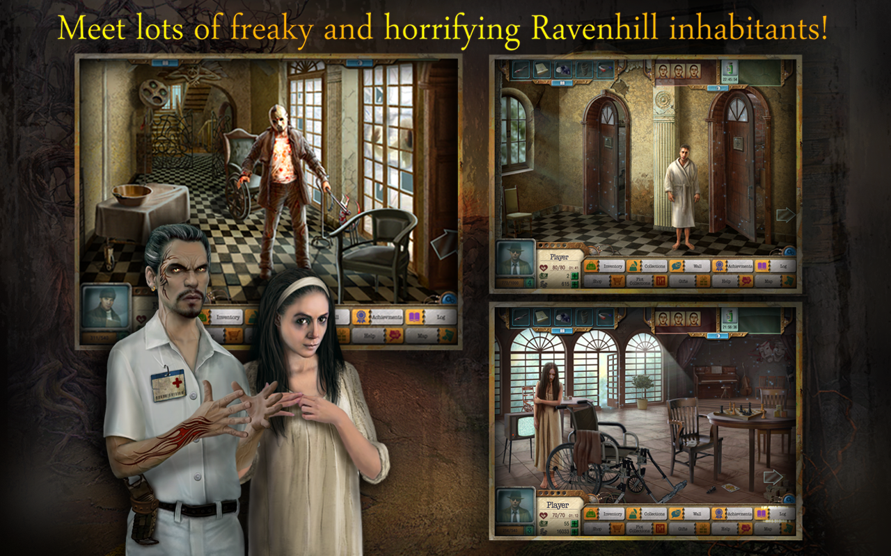 Ravenhill Asylum: HOG - screenshot