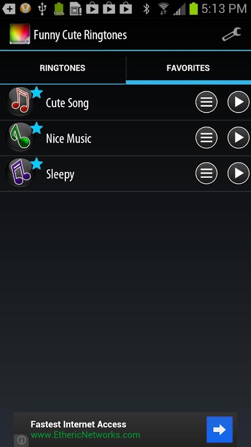 Funny and Cute Ringtones - screenshot