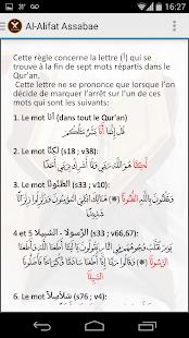 a la lettre com Tajwid Al Quran : Leçons, Coran lettres colorées   Apps on Google Play a la lettre com