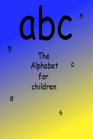 玩教育App|The Alphabet for Children免費|APP試玩