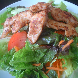 Seasoned Chicken Salad.