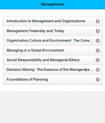 Basic of Management - screenshot
