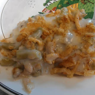 Slow Cooker Chicken and Green Bean Bake.