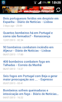 Screenshot of Ponto de Situação