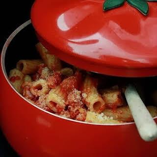 Amatriciana-style Pasta.