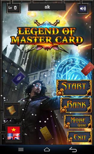 Legend Of Master Card