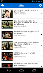 PokerNews - screenshot thumbnail
