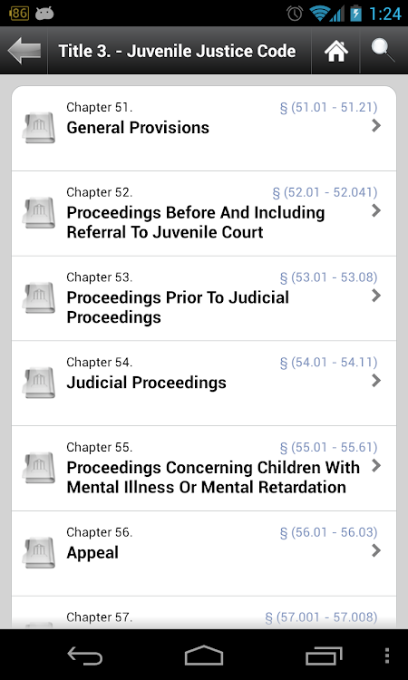 Texas Laws (TX 85th Legislature state code ) – (Android Apps) — AppAgg