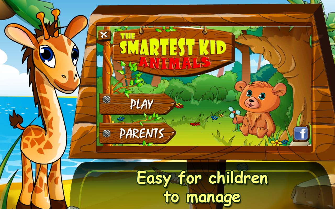 The Smartest Kid: Animals- screenshot