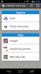 e-BRIDGE Print & Capture Lite- screenshot thumbnail