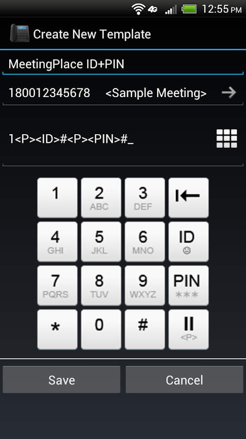 Meeting Auto Dialer- screenshot