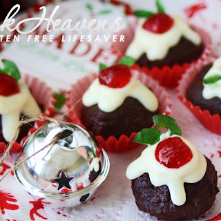 Nigella's Christmas Puddini Bon-Bons; Made From Decadent Chocolate Christmas Cake.