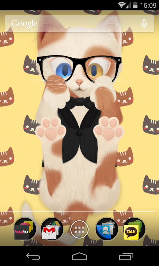 HD Cat Live Wallpaper - screenshot