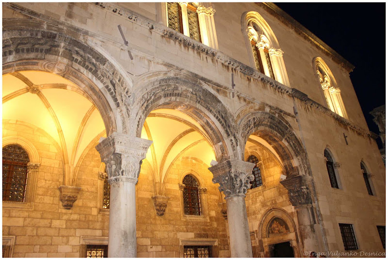 Rector's Palace in Dubrovnik, Croatia.